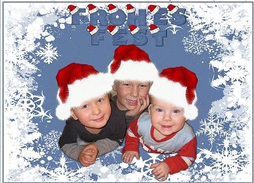 Mein Enkelkinder zu Weihnachten 2009