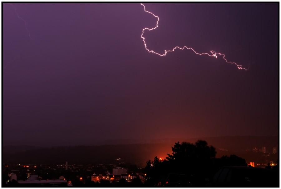 Mein erster Blitz !! :-)