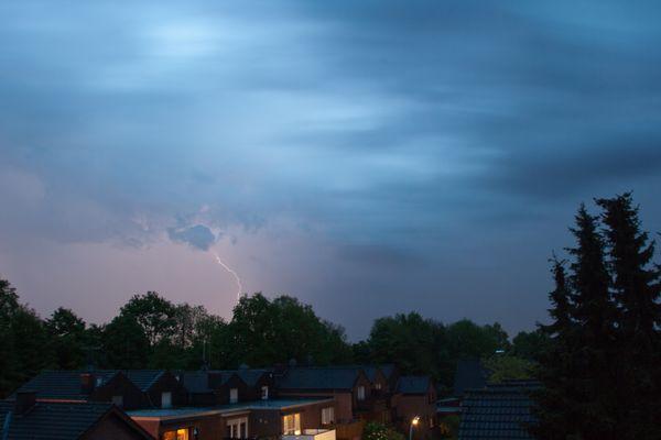 Mein erster Blitz :)