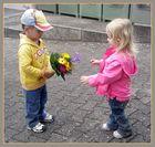 Mein erster Blumenstrauß...
