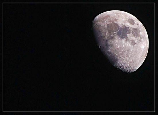 Mein erster D80 Mond