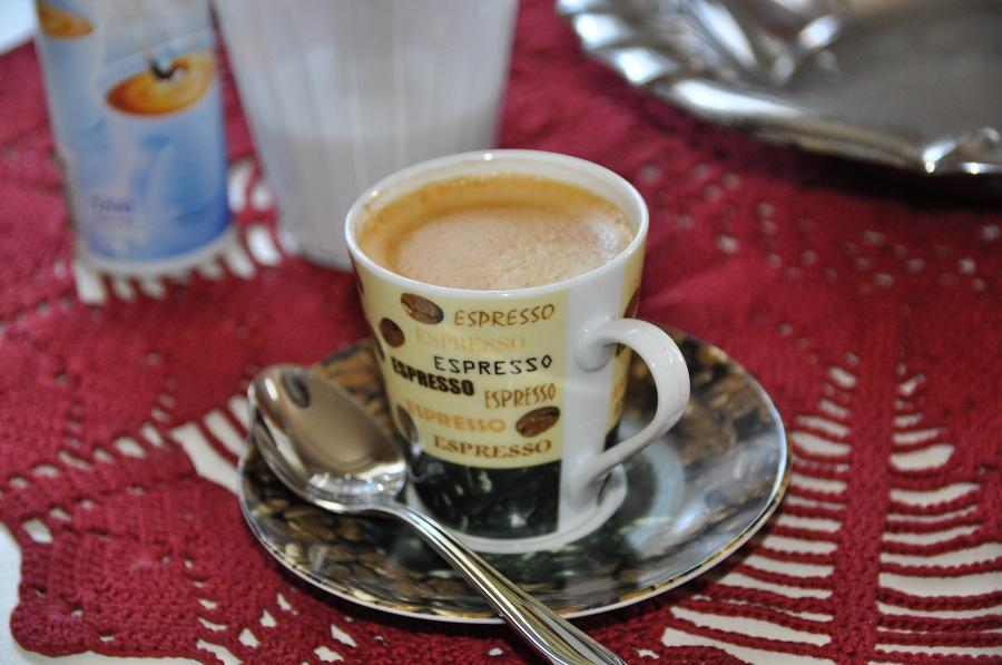 Mein erster Espresso