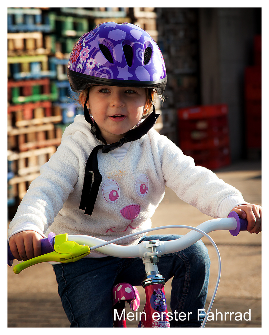 Mein erster fahrrad