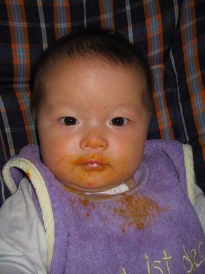 Mein erster Karotten!