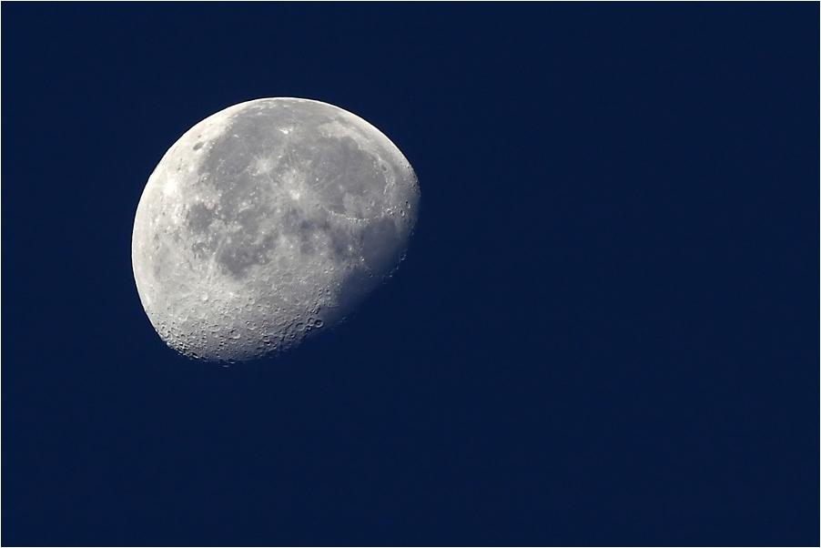 Mein erster Mond...