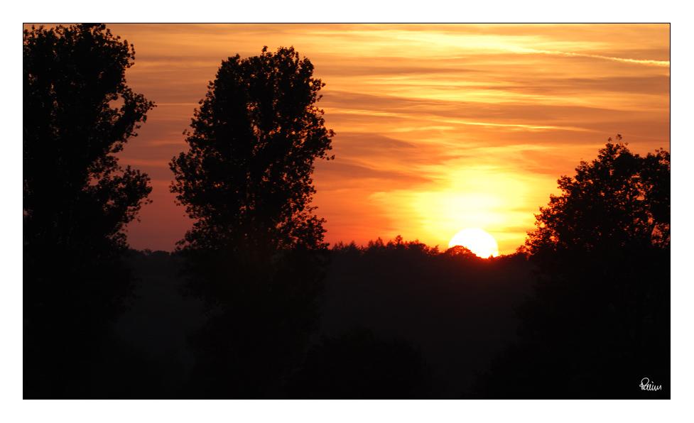 Mein erster Sonnenuntergang