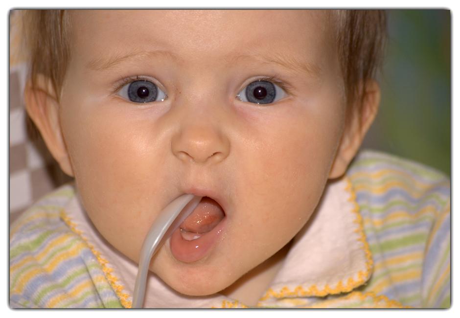 Mein erster Zahn