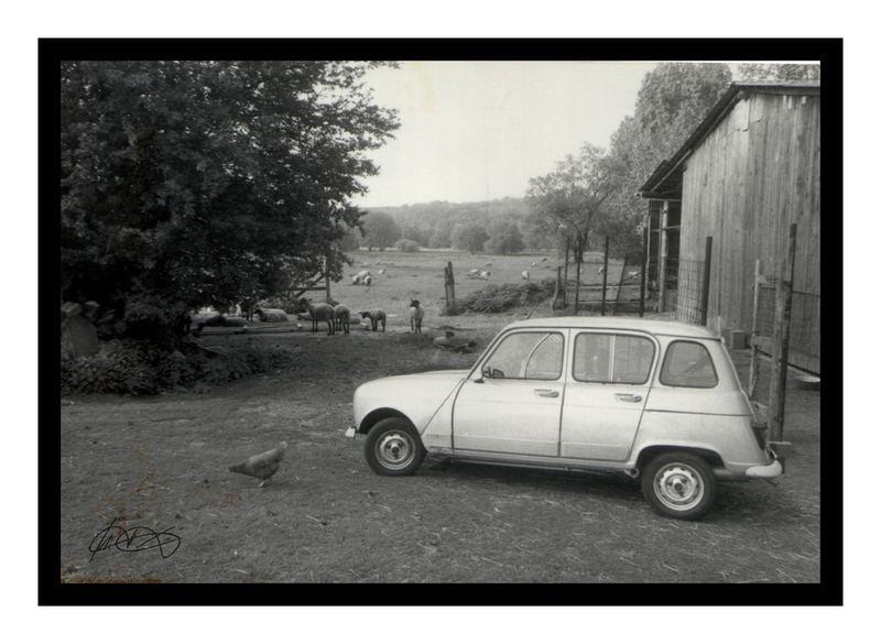 Mein erstes Auto - ein R4