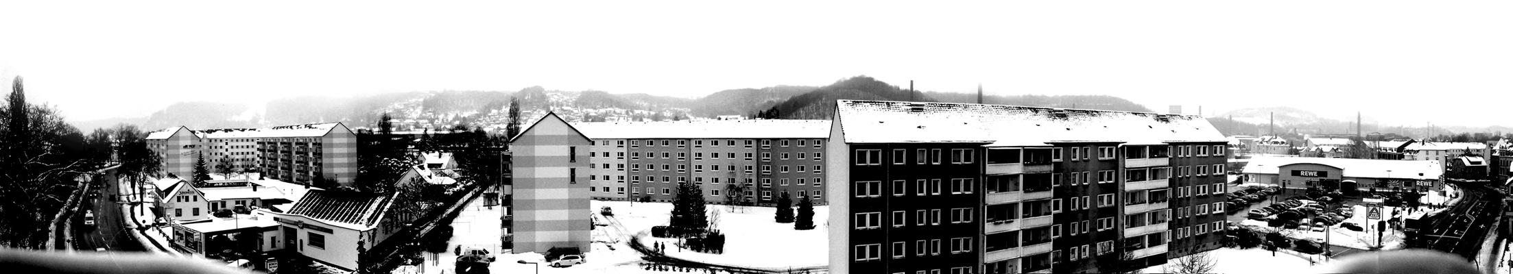 Mein erstes Panorama aus einzelnen,selbst entwickelten Fotos