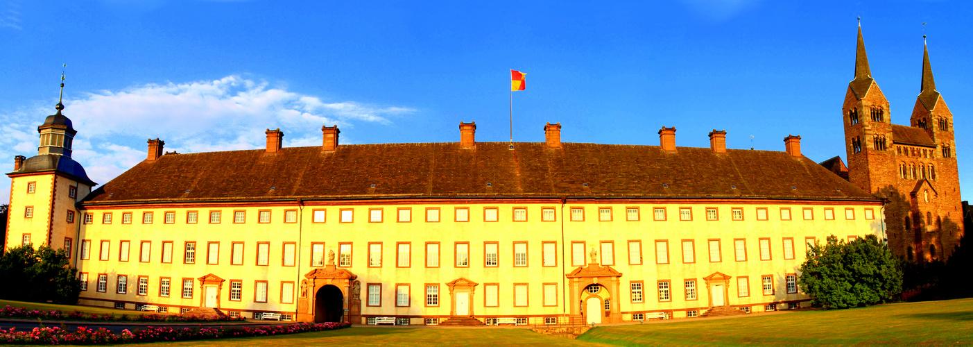 Mein erstes Panorama (Schloss Corvey)