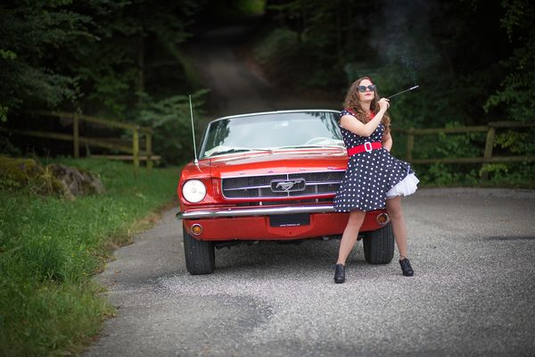 Mein Ford Mustang 1965 und ich