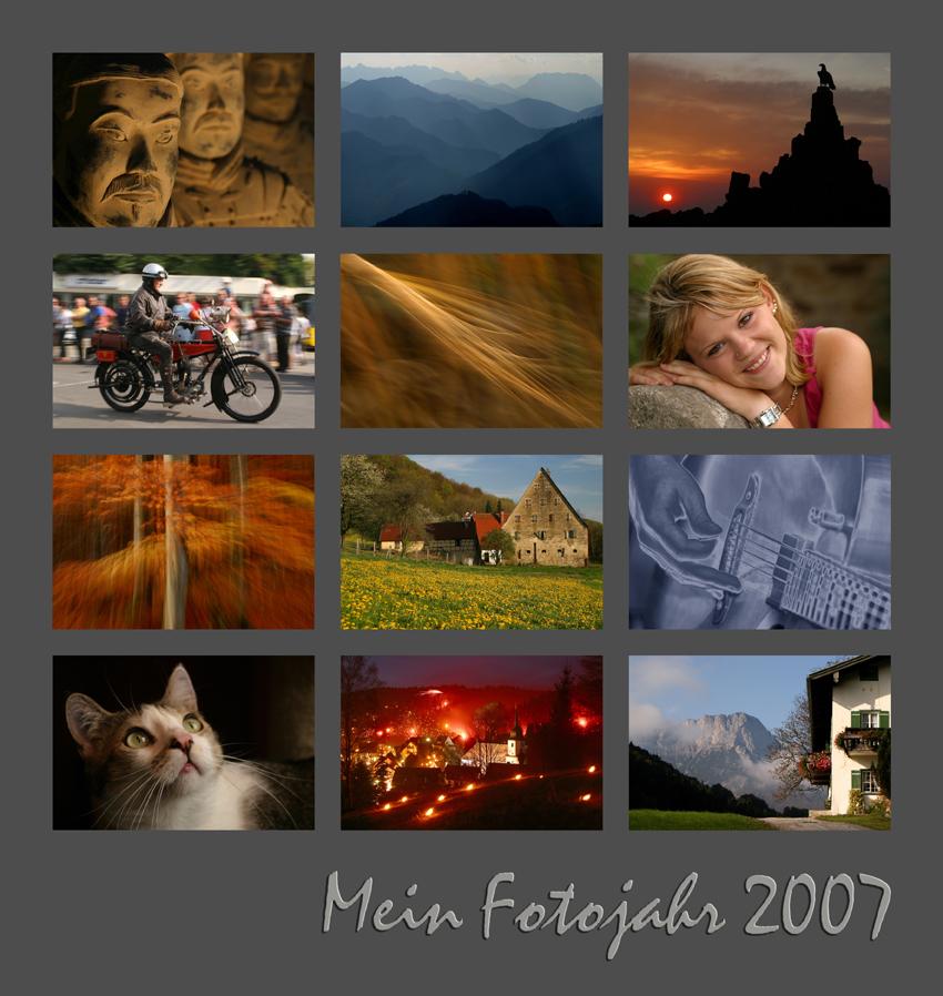 Mein Fotojahr 2007