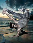 Mein Freund (Fatih) (Breakdancer)Fotomontage von mir!