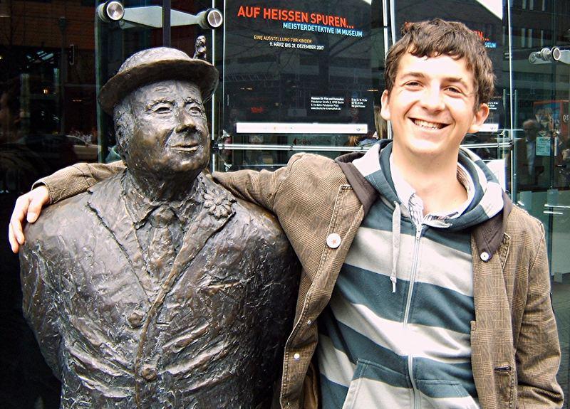 Mein Freund Heinz und ich!