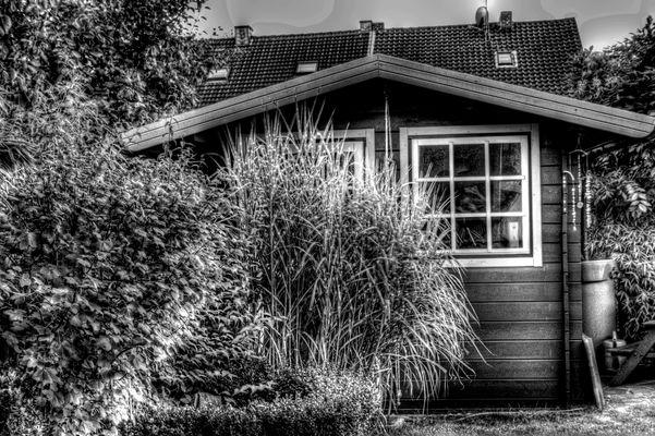 mein Gartenhaus... in HDR