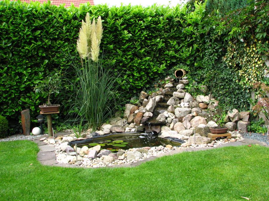 Mein gartenteich foto bild landschaft natur bilder - Gartenteich wasserlauf ...