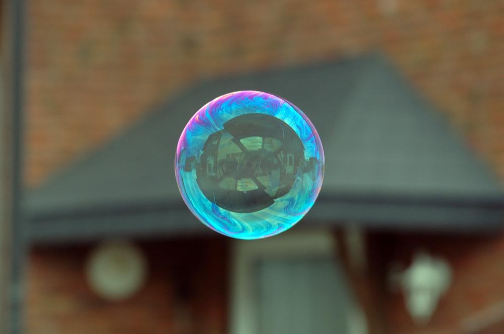 Mein Haus in einer Seifenblase ...