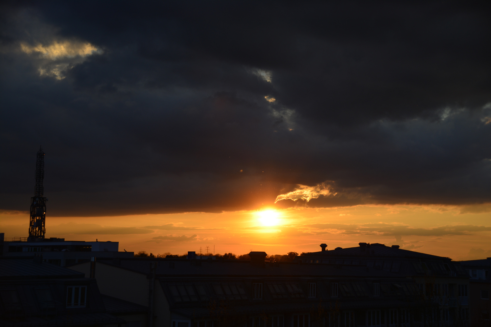 Mein heutiger Sonnenuntergang