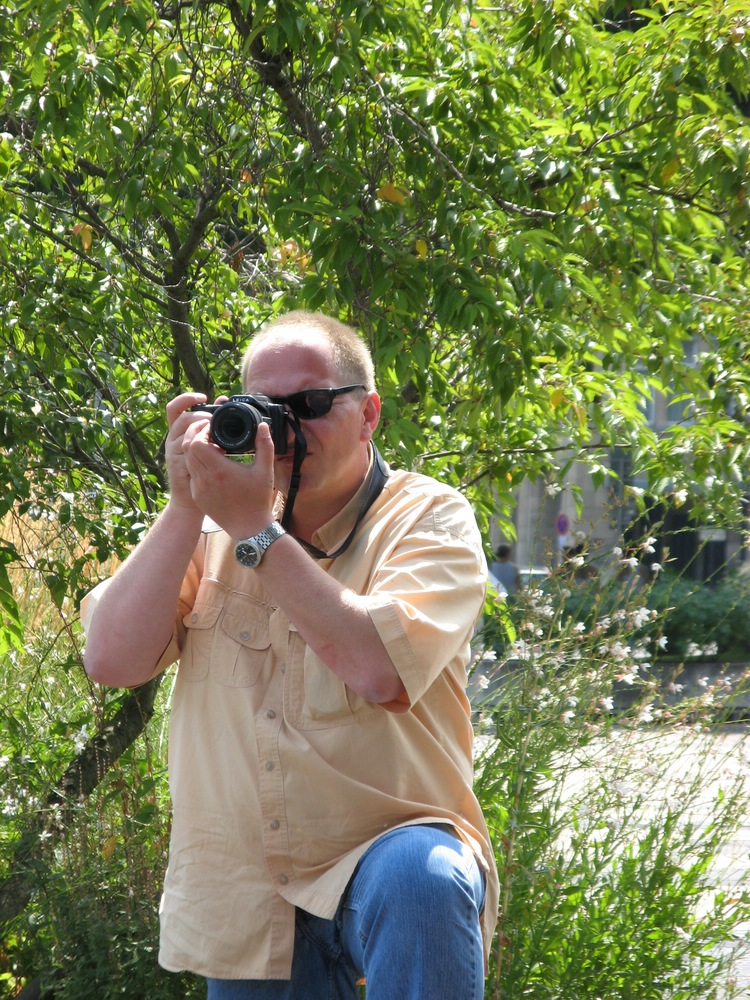 """Mein Hobbyfotograf"" am Rhein"