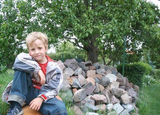 Mein Jüngster, eben einer von 3 liebenswerten Kindern