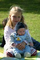 Mein kleiner Neffe und meine Nichte