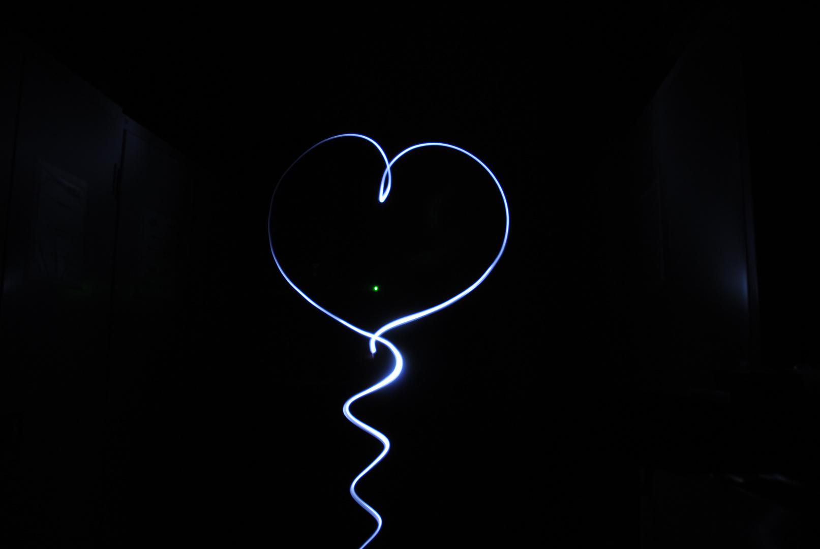 Mein leuchtendes Herz