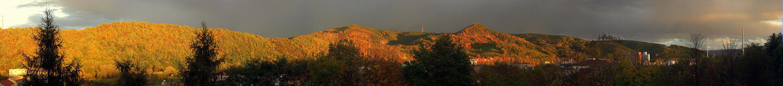 Mein Lieblingsmotiv als Herbstpanorama