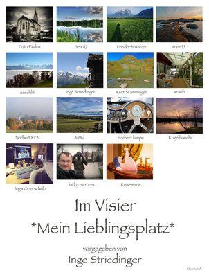 *Mein Lieblingsplatz* Collage von aeschlih