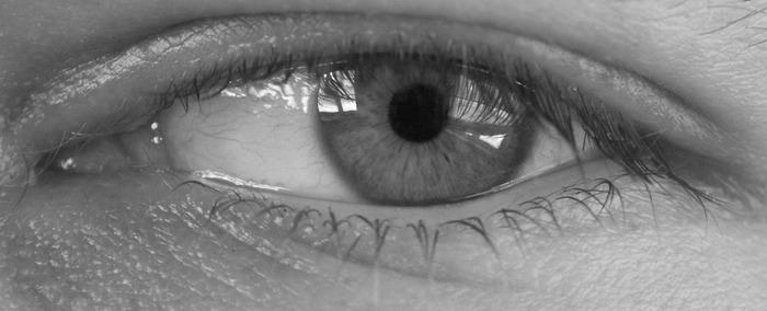 Mein linkes Auge