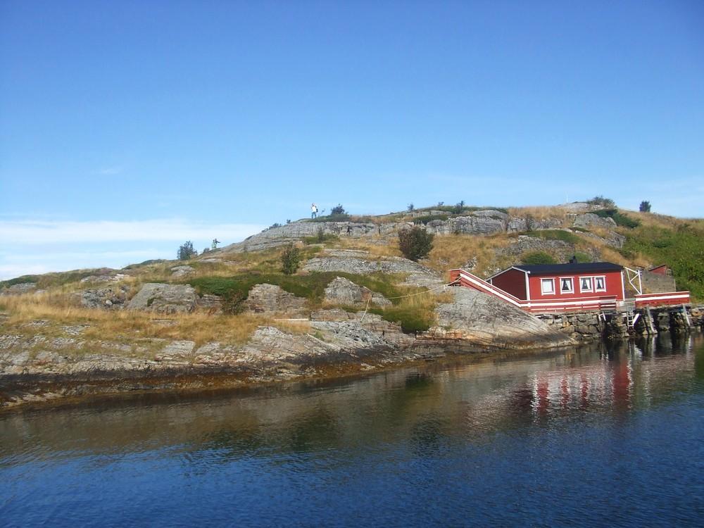 mein Mann :-)) -mein Haus-meine Insel-mein Land-Atlantikstrasse-Häholmen-