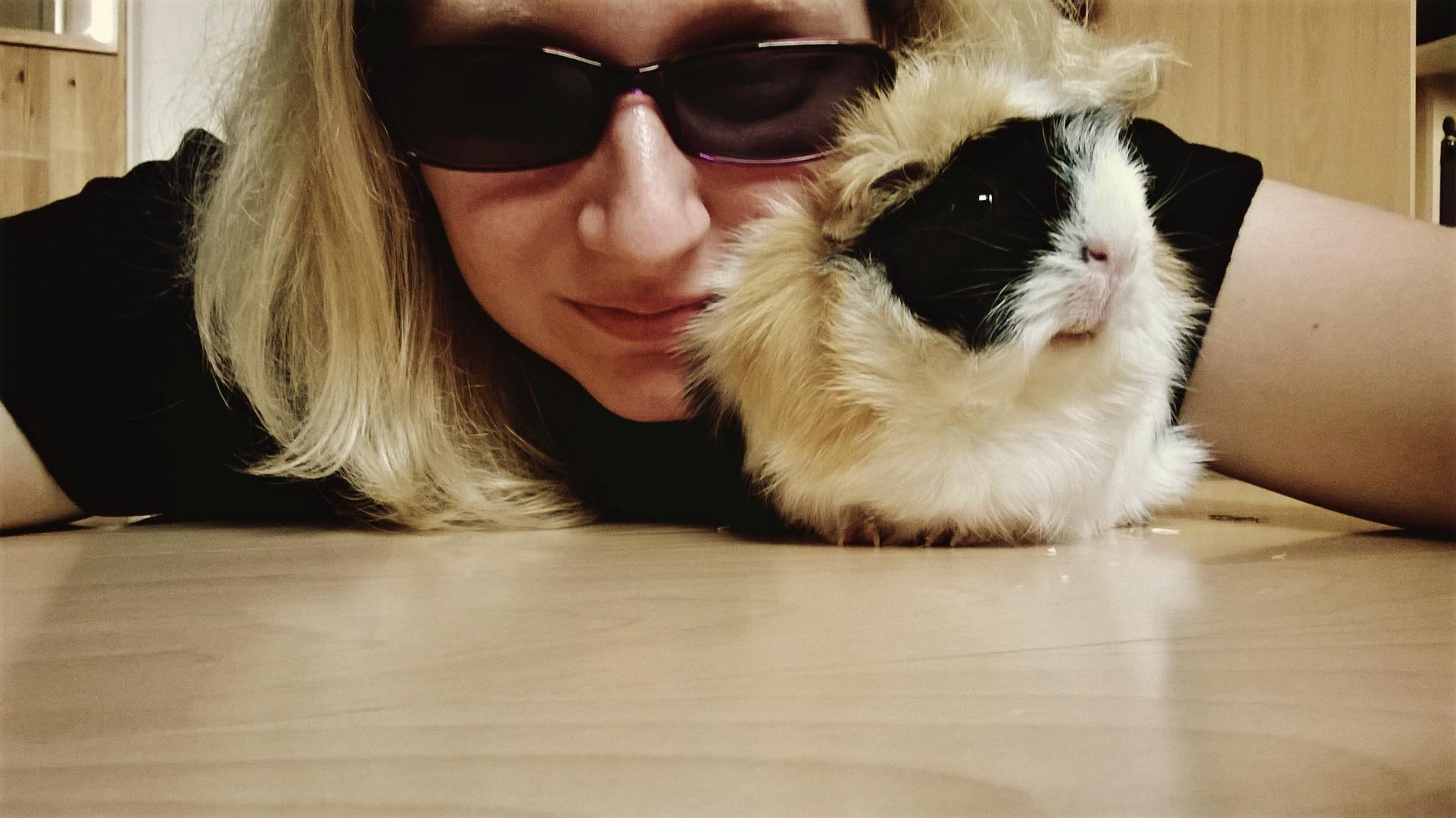 Mein Meerschweinchen und Ich