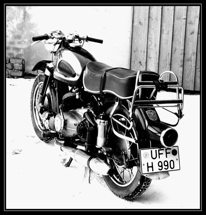 Mein Motorrad 1965 ADLER MB 250