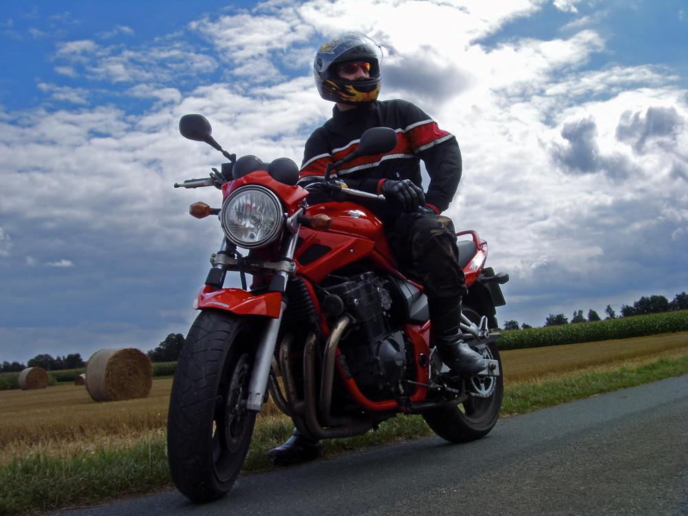 Mein Motorrad, mein Mann