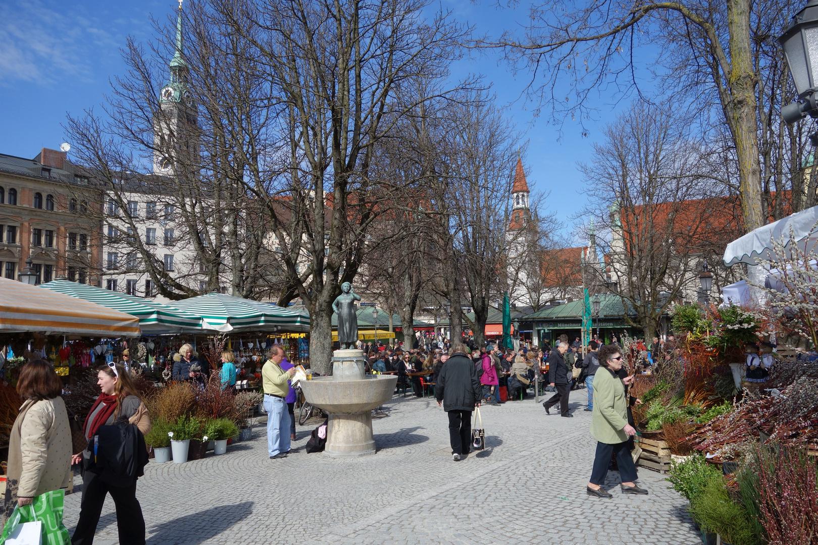Mein München , Viktualienmarkt