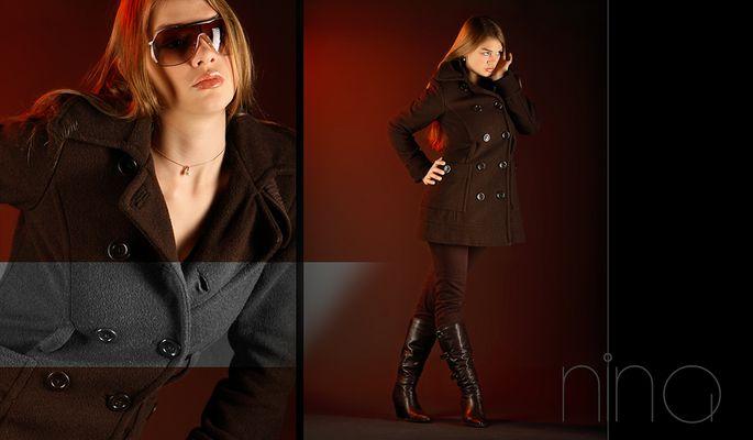 Mein neuer brauner Mantel :-)