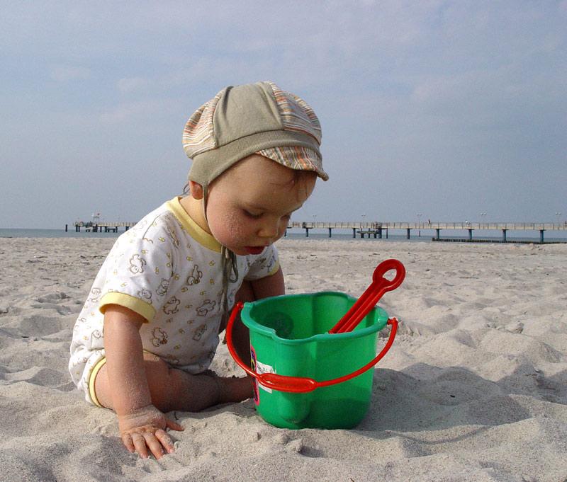 Mein neuer Sandkasten
