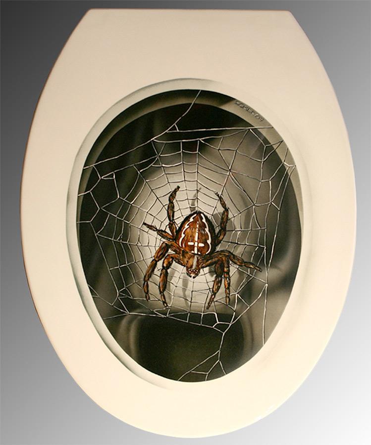 Mein neuer WC-Deckel :-))