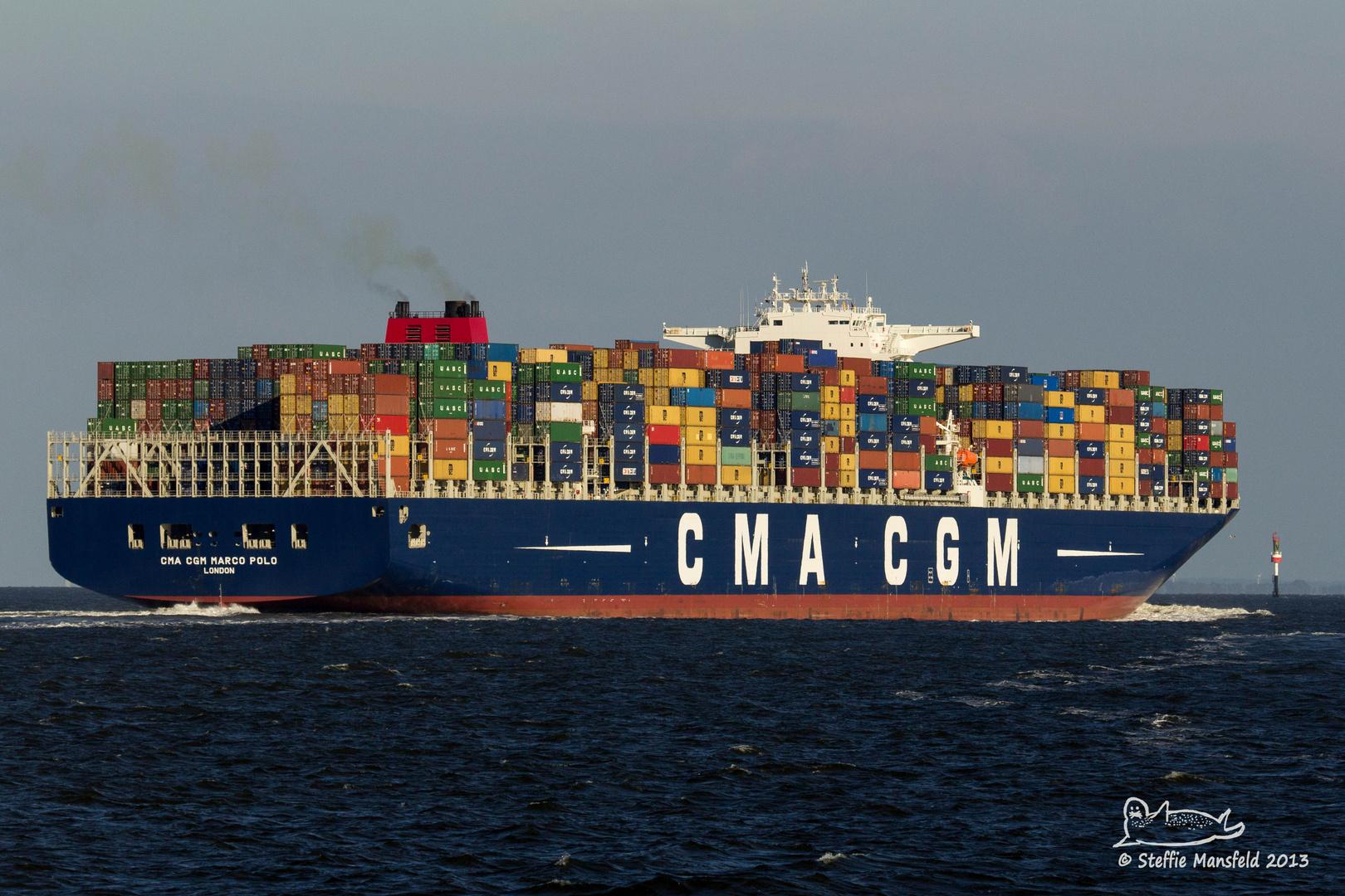 Mein Norden... CMA CGM Marco Polo...