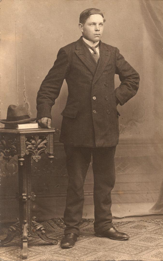 Mein Opa um das Jahr 1910