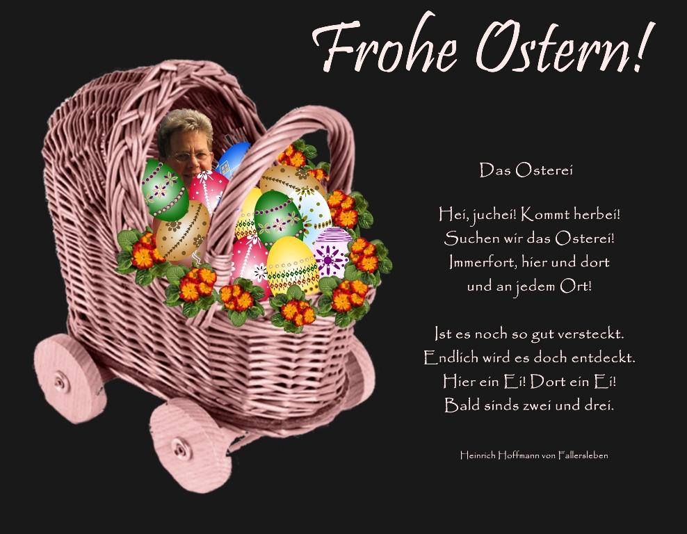 Mein Osterkörbchen für Herbert