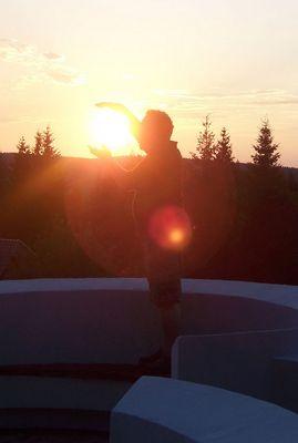 Mein Papa holt für mich die Sonne vom Himmel