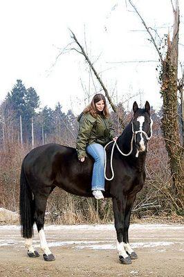 Mein Pferd und ich :-)