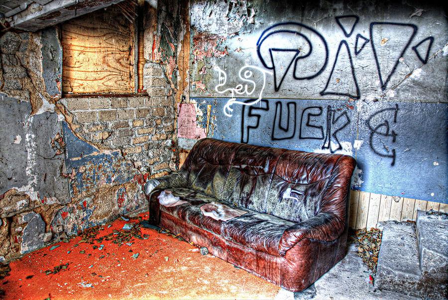 Mein Psychologe hat eine neue Couch.