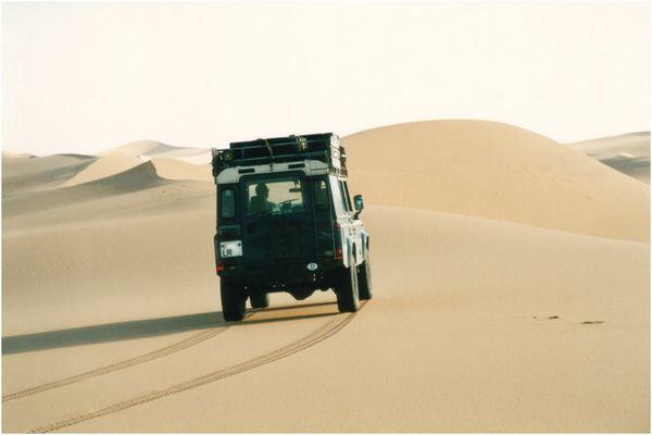 mein Reisebus in Algerien