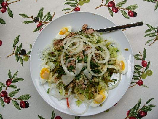 """Mein Salat """"Nicoise"""""""