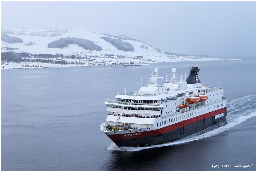 Mein Schiff MS Nordkapp fährt ohne mich...