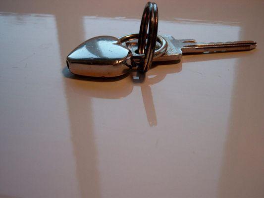Mein Schlüssel in seiner ganzen Pracht