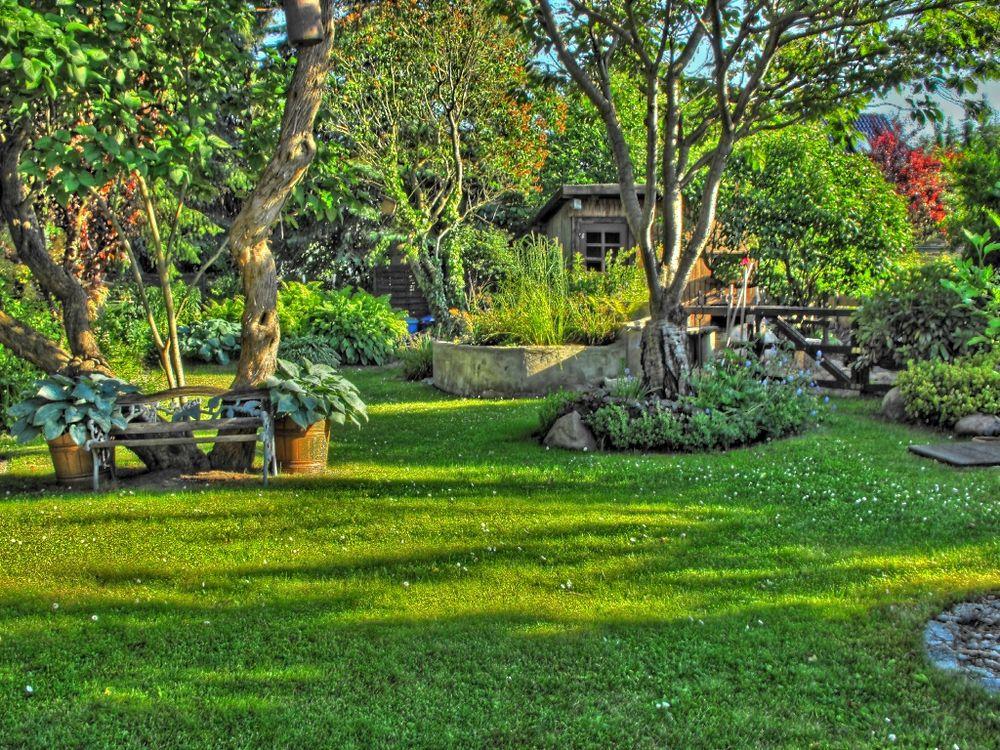 mein schöner garten hdr foto & bild | digiart, pseudo- hdr, Hause und Garten