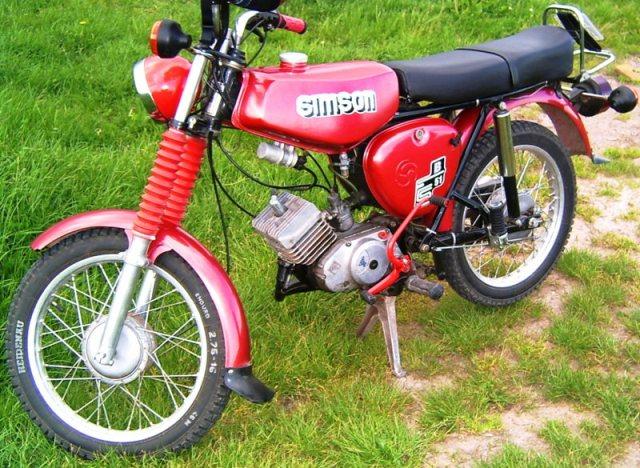 Mein schöner Oldtimer. Simson S51B