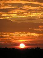 mein schönster Sonnenuntergang...